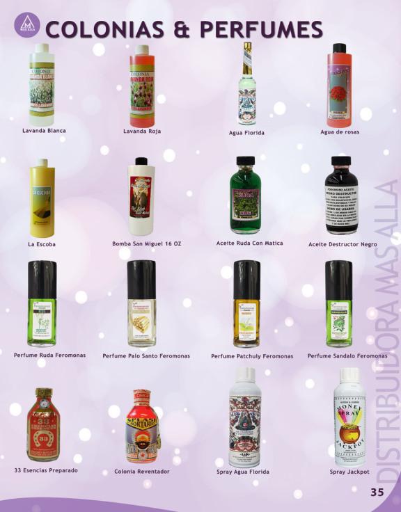 Afrodisiacos y esenciales para botanicas aquí En La Distribuidora Mas Alla